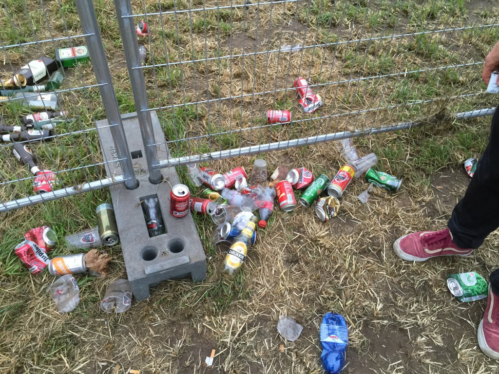 Moral waste self-evidence is nog heel ver weg in festivalland