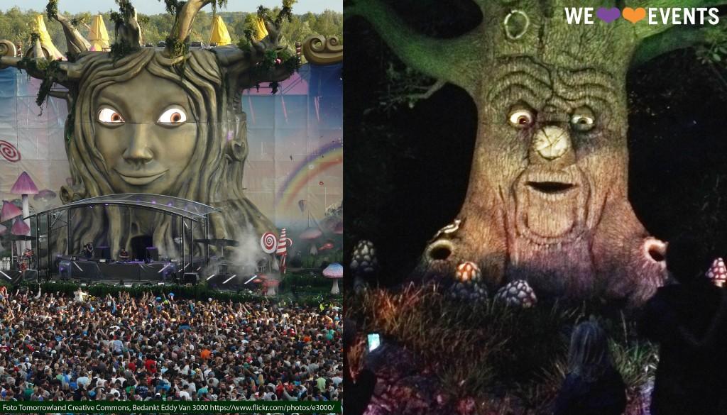 De Tomorrowlandmadam en de Eftelingmeneer... Ze konden broer en zus zijn!