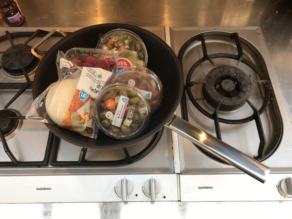 21 extra zegeltjes, meer dan genoeg voor een wokpan